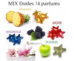 Mix ETOILES 4 parfums | 12 perles